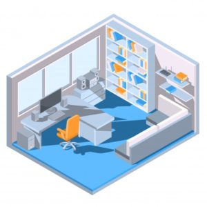 Consider your new office design as part of your brand new company beginning.
