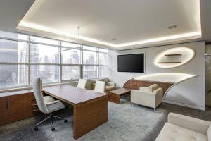 An inside of an office.