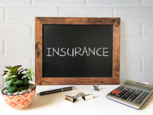 insurance sign