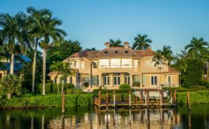 Mansion in Naples, one of the top places to live in Florida.