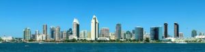 A view of San Diego from the water