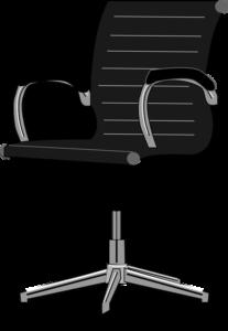 an office chair