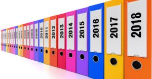 Ring binders in various colors can be very helpful when a person decides to relocate an office
