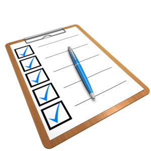 a checklist to help you organize when moving from New Jersey to the West Coast