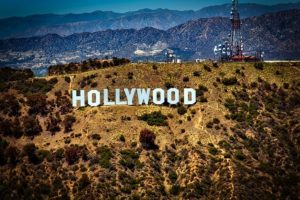 Hollywood sign, a place where to move to start your acting career.