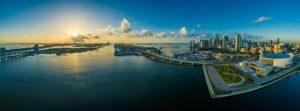 A view of Miami.