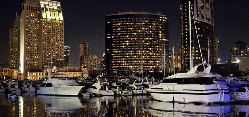 San Diego skyline which you can enjoy in peace after hiring full-service movers in San Diego.