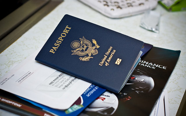 passport is on the list of important moving documents if you are moving abroad
