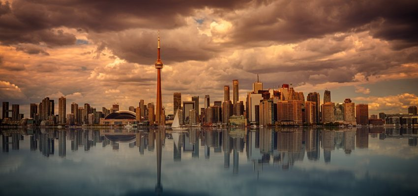 Moving to Ontario from San Diego, to Toronto, with its amazing skyline