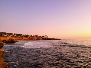 San Diego Beach you will enjoy after moving to San Diego from New Braunfels.