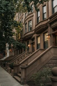 A beautiful townhouse in NYC.