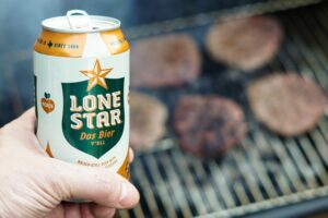 beer and grill you can enjoy after relocating from California to Texas