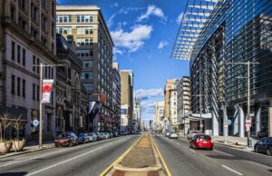 A street in Philadelphia.