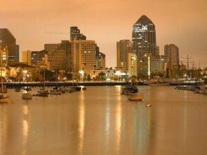 San Diego city view.